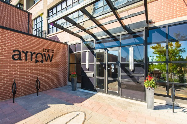 Arrow Lofts Entrance